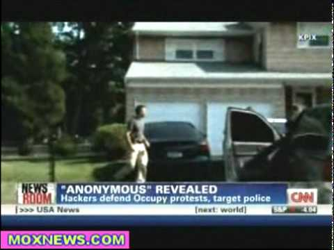 CNN: Anonymous Wants To See An All Out Revolution Here In The United States! - January 14, 2012