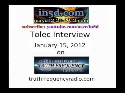 Tolec Interview on Truth Frequency Radio Jan. 15, 2012