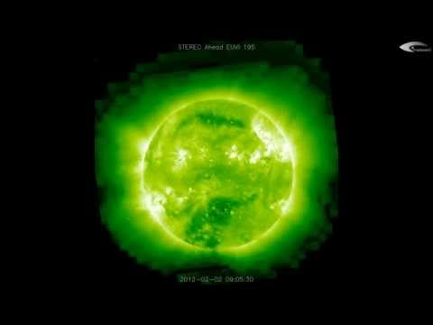 2012 UFO SUN activity in orbit - Review of February 2nd