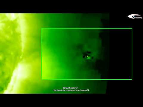 UFO near the Sun - Review of UFO activity for March 23, 2012. (HQ)