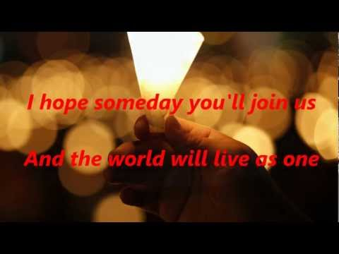 John Lennon - Imagine [Lyrics]