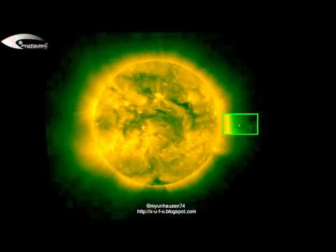UFO near the Sun - Monitoring Activity for August 16, 2012.