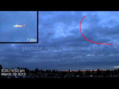 UFOs over Vancouver March 29 2013