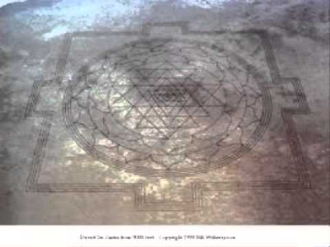 13 mile long Crop Circle in the Desert