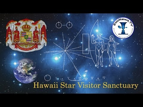 Reinstated Kingdom of Hawaii to create extraterrestrial visitor sanctuary
