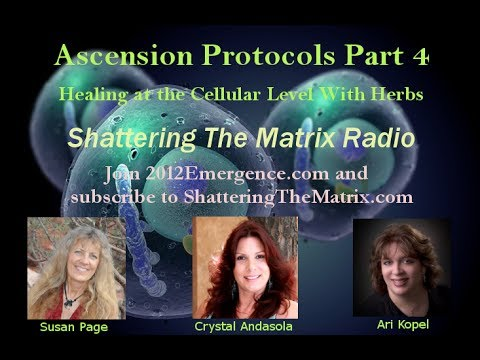 Ascension Protocols Part 4 - Healing at the Cellular Level with Herbs