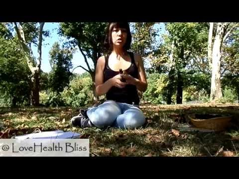 Sun Gazing, Essential Oils and Vitamin D...Oh My!   Park Vlog   Love Health Bliss