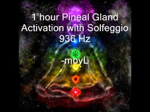 1 hour Pineal Gland Activation with 936Hz Solfeggio Meditation Music