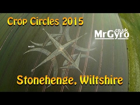 Mysterious Crop Formation Appears Near Stonehenge (Video)
