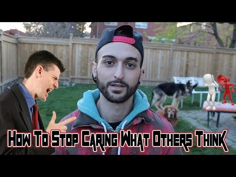 How To Stop Caring What Others Think - - Wise Words With Wolf