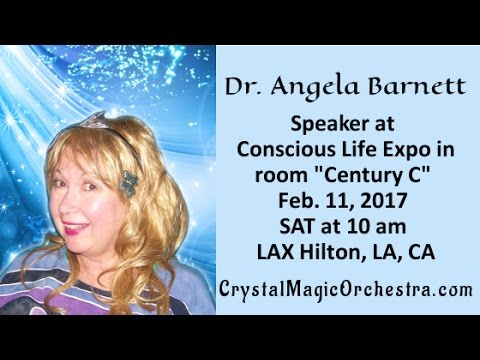 Turning into Light Lecture  Dr. Angela Barnett