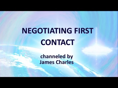 NEGOTIATING FIRST CONTACT