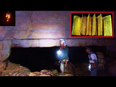 """Golden Library"" Found In Caves Built By Giants?"