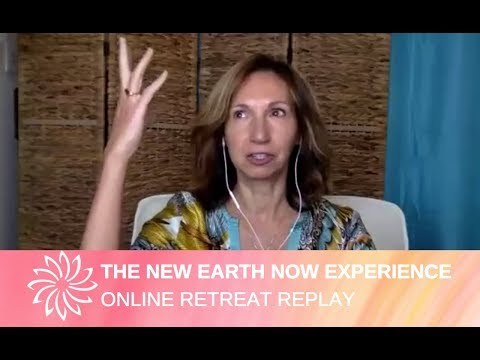 The New Earth Now Experience online retreat with Sandra Walter