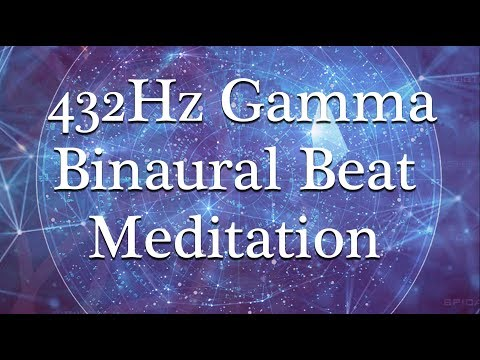 Celestial Contemplation ~ 36Hz Gamma Binaural Beat Meditation