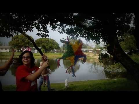 Ode to Lord of the Flies Via Pinata Destruction