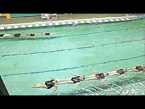 Synchronized Swimming at Crosby YMCA