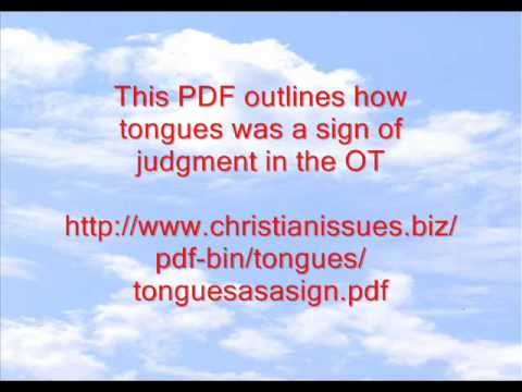 Speaking In Tongues Part B