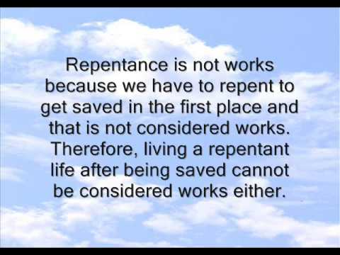 Confessing And Repenting