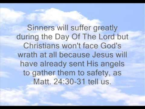 God's Wrath In The Day Of The Lord