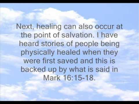 Healing - Why Not Everyone?