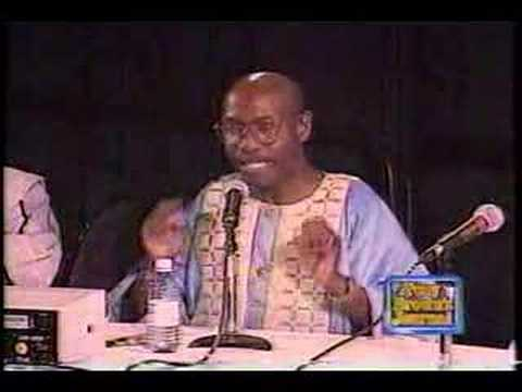 Tony Brown at Afrocentric Conference - Pt. 1