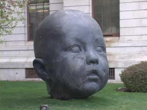 """""""Baby Heads"""" Installation at Museum of Fine Arts, Boston"""