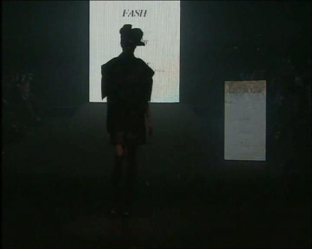 man with a hat, Video
