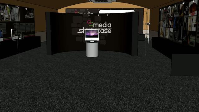 """งานวิชา Exhibition """"Media Showcase"""""""