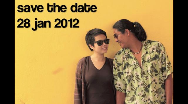 Save The Date 28/01/2012