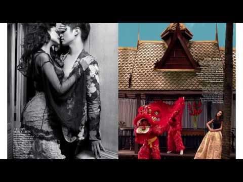 Esha Gupta Behind-the-Scenes VOGUE India In Thailand