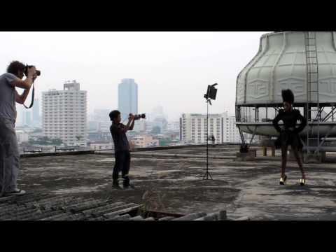 Kusuma Behind-the-Scenes ZEBULE France in Thailand
