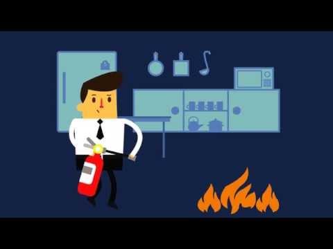 วิธีรับมือกับเหตุการณ์เพลิงไหม้ Infographic - Aitim Rule The World