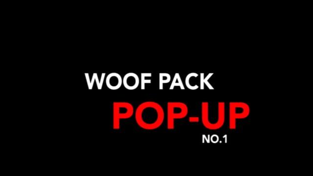WOOF PACK POP UP