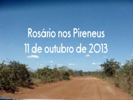 ROSÁRIO NOS PIRENEUS 11 OUTUBRO DE 2013