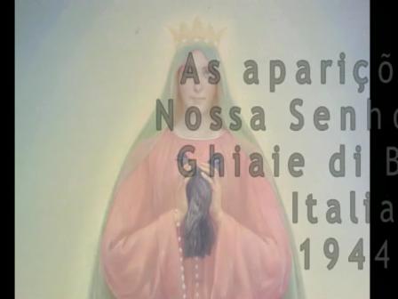 As aparições de Nossa Senhora em Ghiaie di Bonate, Itália
