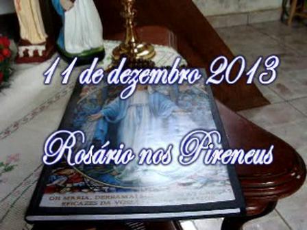 ROSÁRIO NOS PIRENEUS 11 DE DEZEMBRO DE 2013