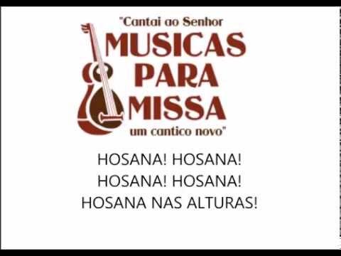 SANTO, HOSANA NAS ALTURAS