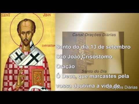 São João Crisóstomo - 13 de setembro