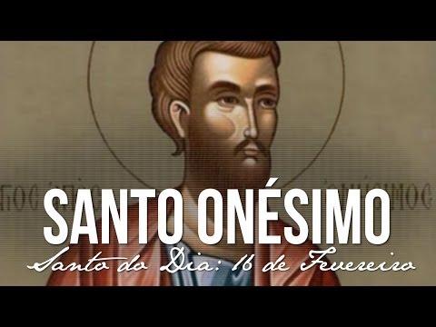 16 de Fevereiro / Santo do Dia - Santo Onésimo