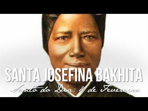 08 de Fevereiro / Santo do Dia - Santa Josefina Bakhita