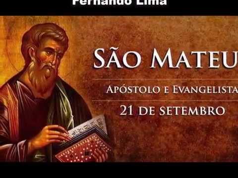 Hino a São Mateus, Apóstolo e Evangelista  -  Mês do Padroeiro