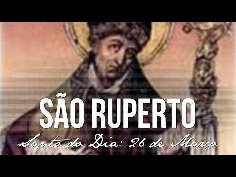 SANTO DO DIA 27 DE MARÇO SÃO RUPERTO, GRANDE APÓSTOLO DA BAVIERA theraio7 todos