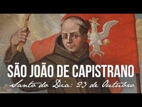 23 de Outubro - dia de São João de Capistrano