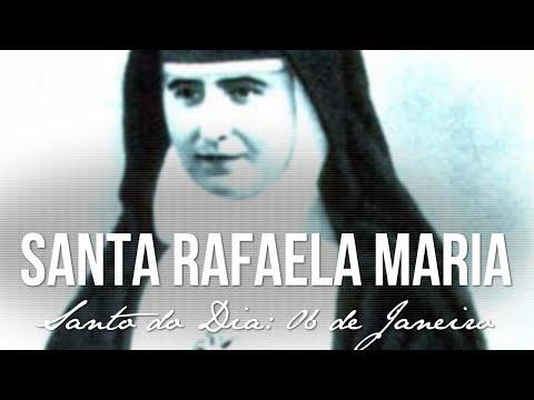 06 de Janeiro - dia de Santa Rafaela Maria