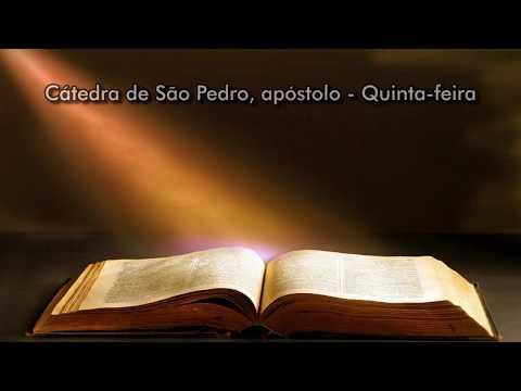 Liturgia diária: Cátedra de São Pedro, apóstolo - Quinta-feira - 22/02/18