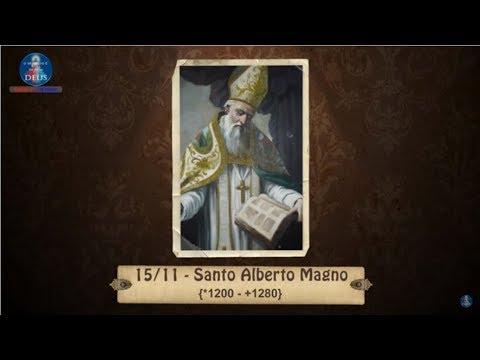 Santo Alberto Magno - Santo do dia 15 de Novembro