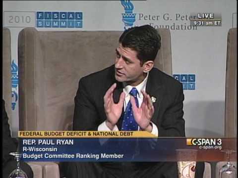 Rep. Paul Ryan: Predictable Crisis