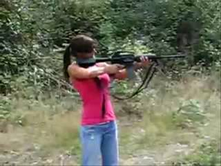 NAW - REAL women have no interest or ability in the shooting sports!