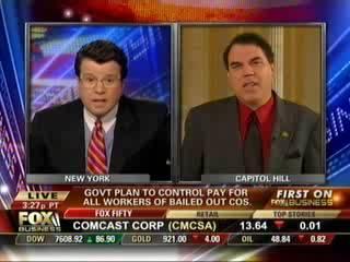 Cavuto vs Grayson: Corp. Bonuses